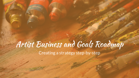 "For my artist friends this free ""Artist Business and Goals Roadmap Course"" may interest you.--"
