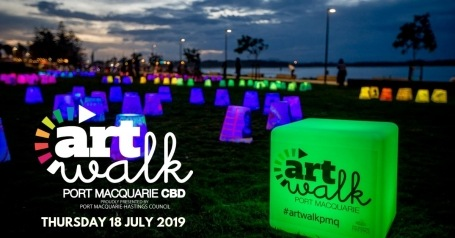 Port Macquarie, ArtWalk --