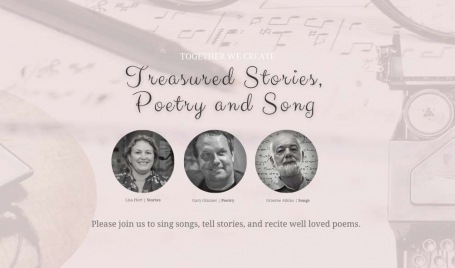 Treasured Stories, Poetry and Song l Together We Create <br>--